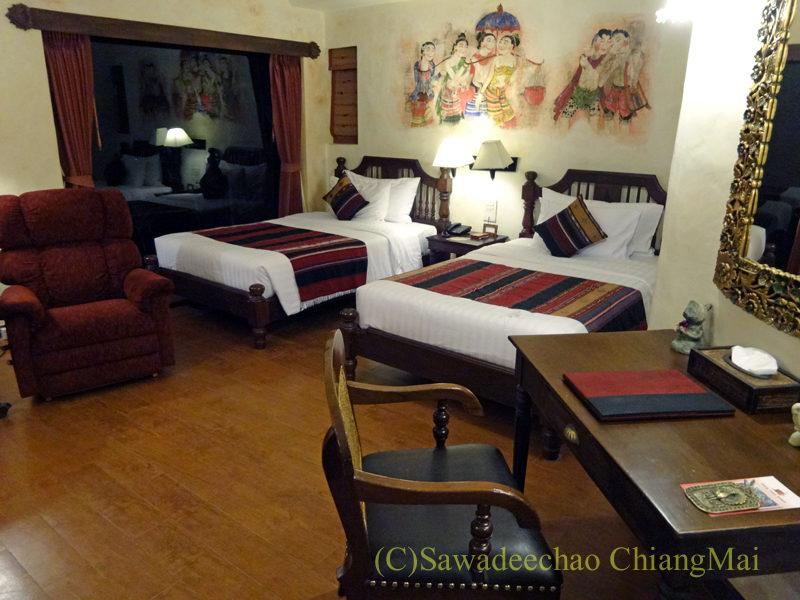 チェンマイの高級ブティックホテル、ヤーンカムビレッジ