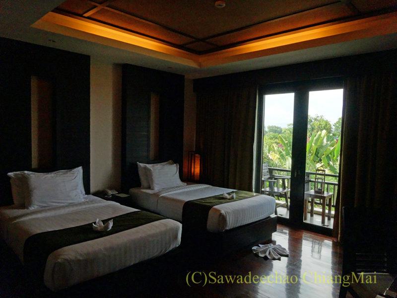 タイのピサヌロークにあるヨディアヘリテージホテルの客室概観