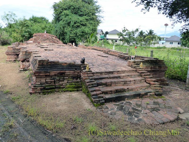 チェンマイのウィアンクム・カーム遺跡のワットクーマクルア