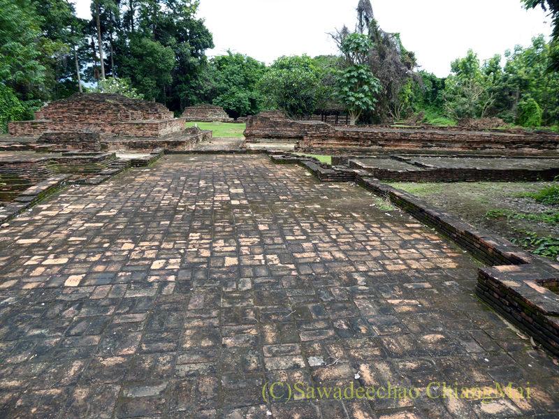チェンマイのウィアンクム・カーム遺跡のワットプラチャオオンカム