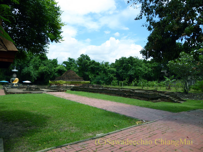 チェンマイのウィアンクム・カーム遺跡