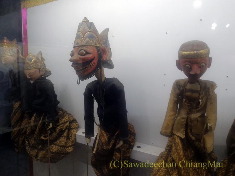 インドネシア、ソロ(スラカルタ)のラジャプスタカ博物館のパペット