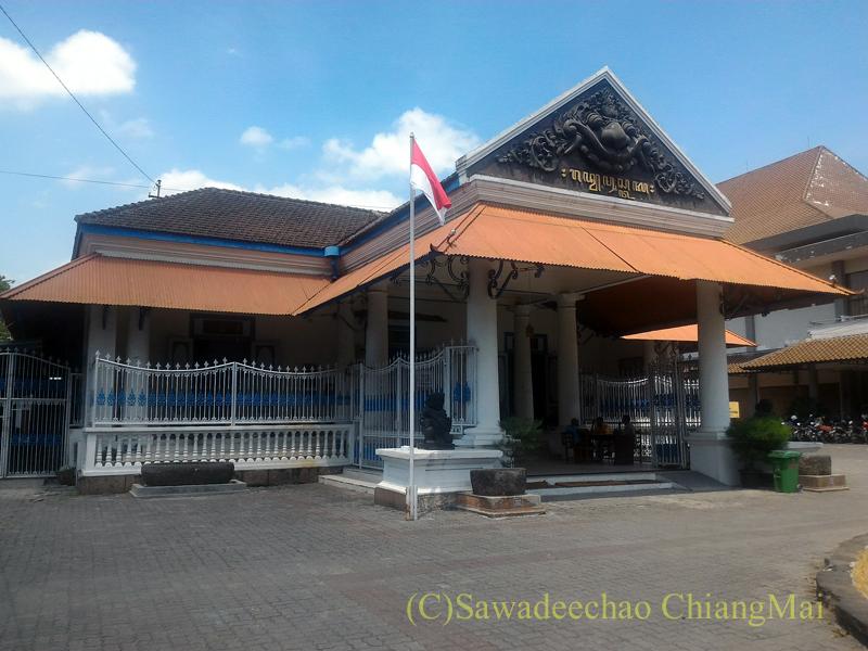 インドネシア、ソロ(スラカルタ)のラジャプスタカ博物館の概観