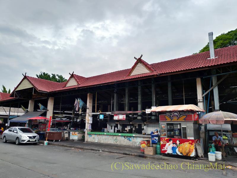チェンマイ市内東部にあるトーンカム市場