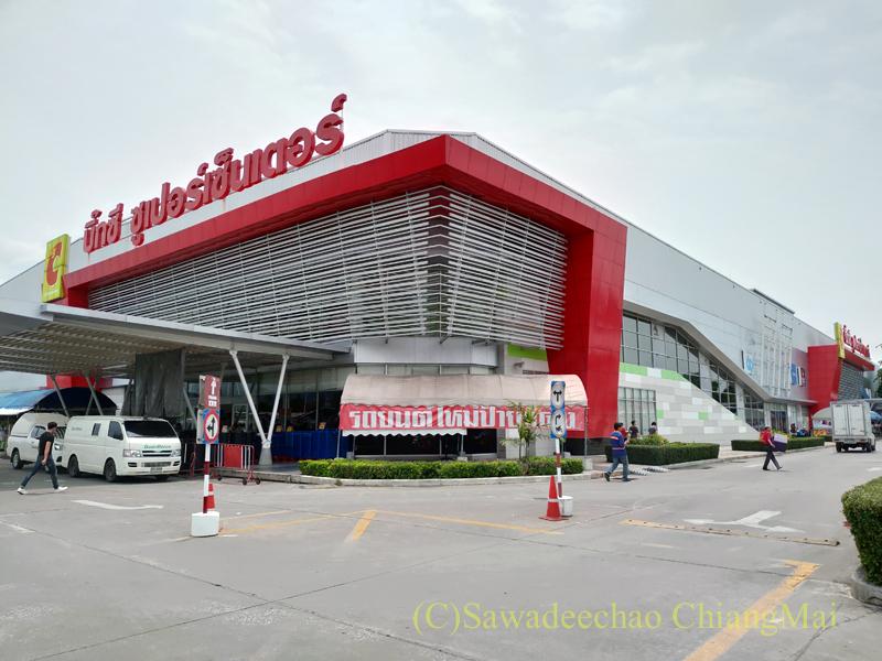 チェンマイの大型スーパーマーケット、ビッグCハーンドーン店