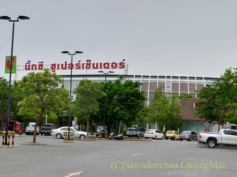 チェンマイの大型スーパーマーケット、ビッグCハーンドーン2店