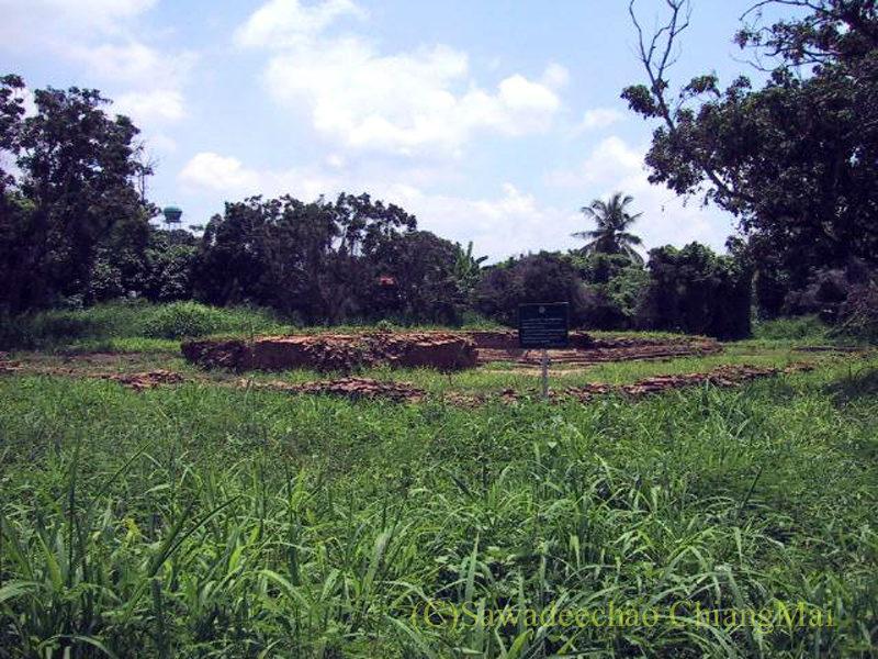 チェンマイのウィアンクム・カーム遺跡のワットクムカムラーン