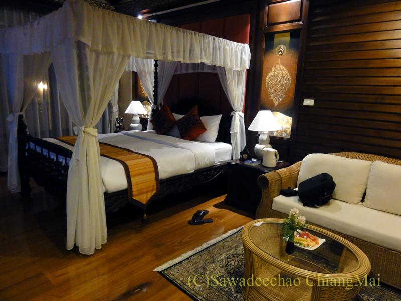 チェンマイのビラシリラーンナーホテルの客室概観