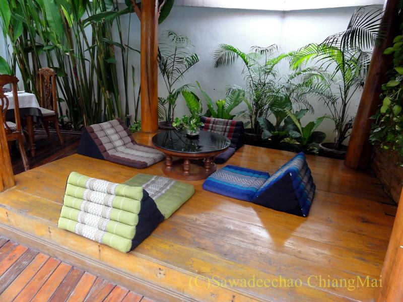 チェンマイのビラシリラーンナーホテルの東屋