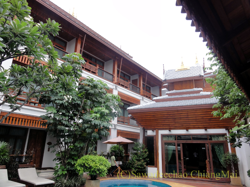 チェンマイのビラシリラーンナーホテルの客室棟
