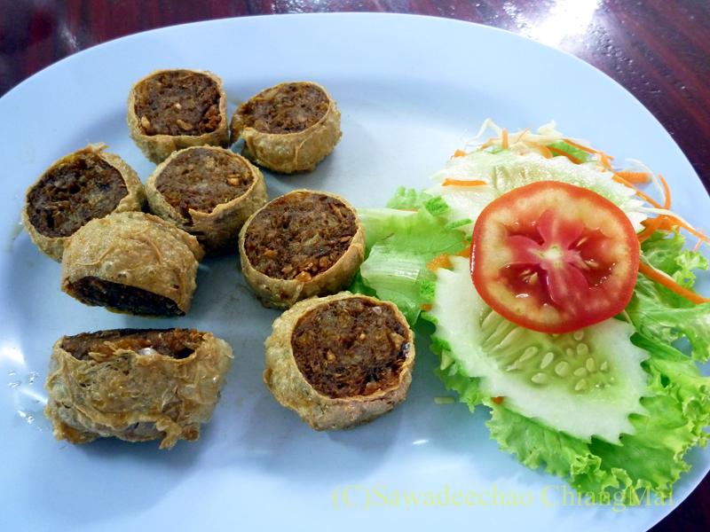 チェンマイの潮州(中華)料理レストラン、ヨートアロイのホーイチョー