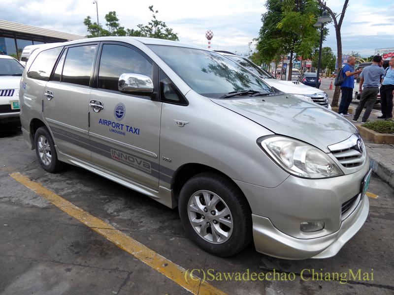 チェンマイ空港のエアポートタクシー