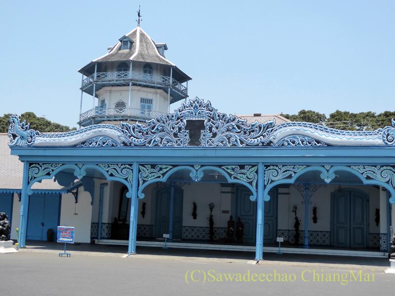 インドネシアのソロ(スラカルタ)のカスナナン王宮の瞑想塔