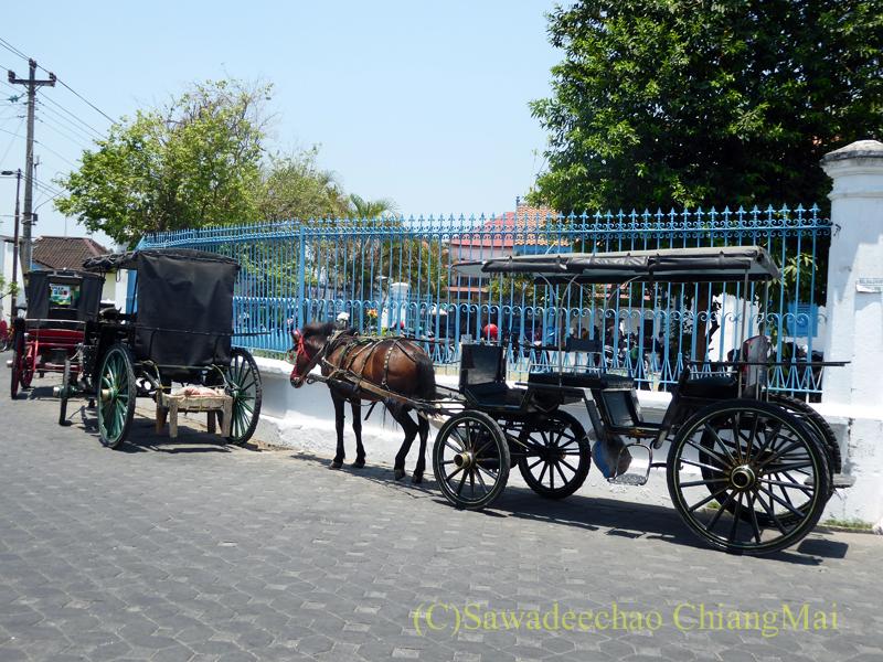 インドネシアのソロ(スラカルタ)のカスナナン王宮の馬車