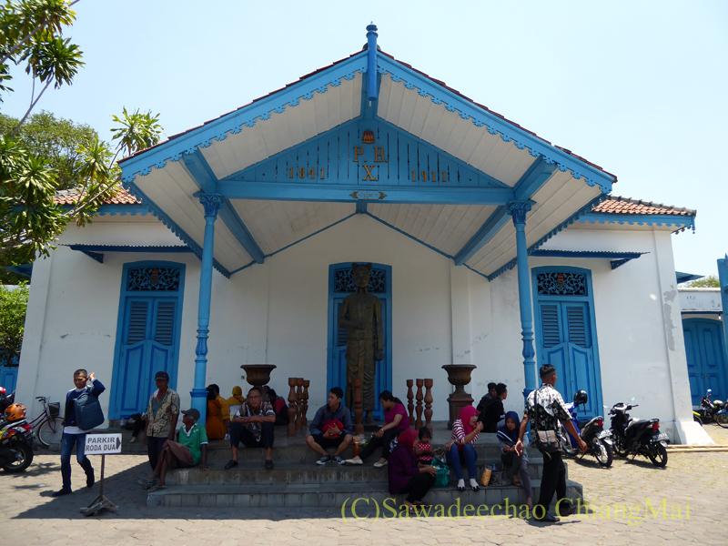 インドネシアのソロ(スラカルタ)のカスナナン王宮の別棟