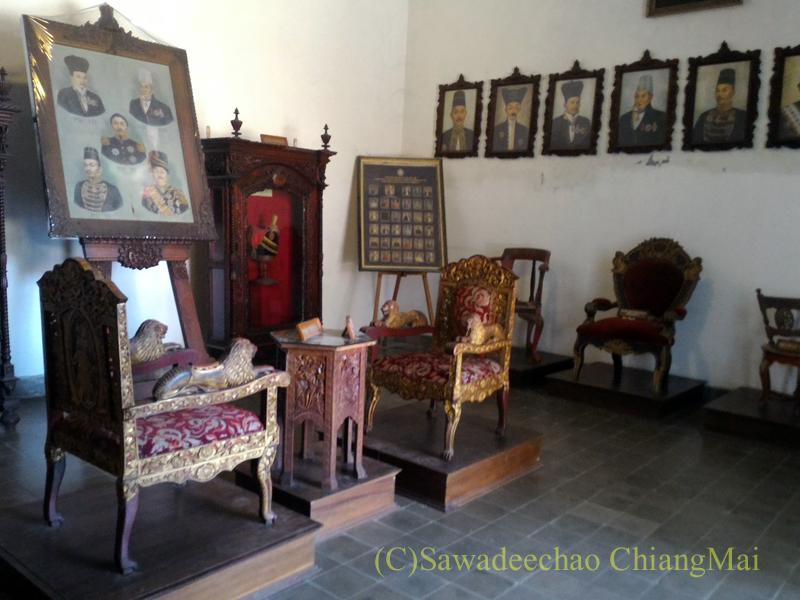 インドネシアのソロ(スラカルタ)のカスナナン王宮の博物館