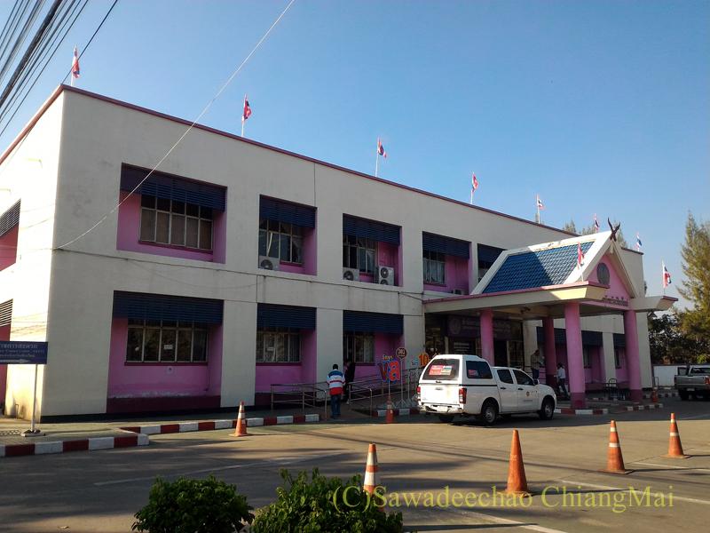チェンマイの陸運局の外観