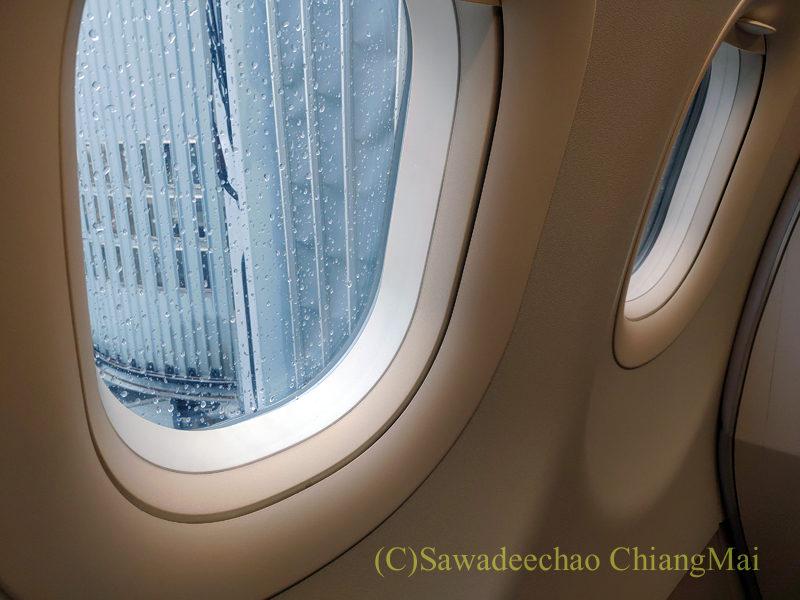 キャセイドラゴン航空KA232便ビジネスクラスのキャビン