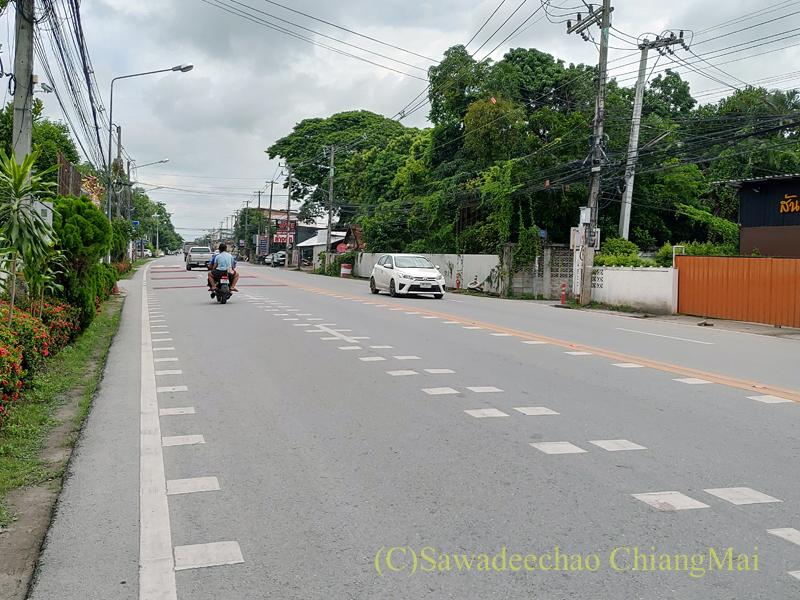 チェンマイの国道1367号線
