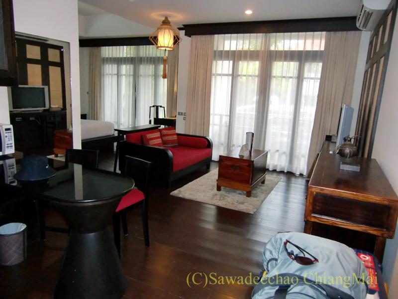 チェンマイの高級ブティックホテル、ボディセリーンの客室概観