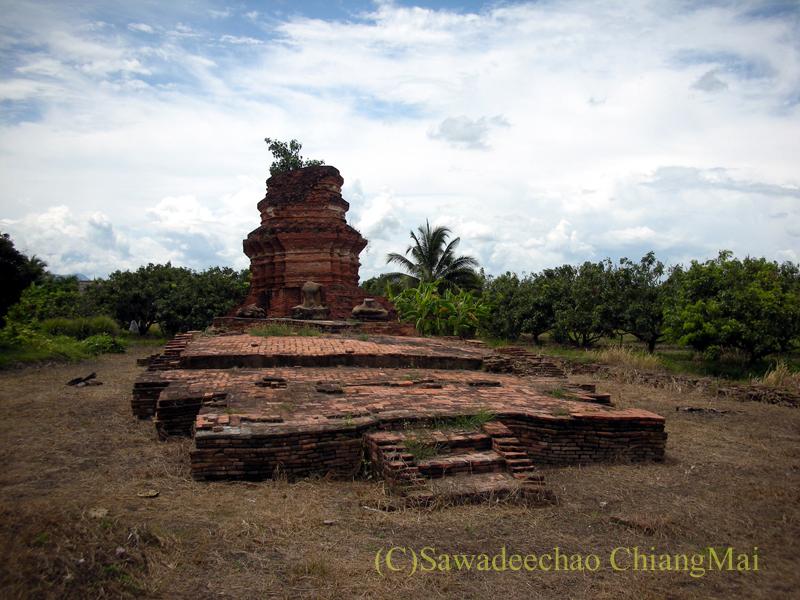 チェンマイ郊外ある都市の遺跡群、ウィアン・ターカーンのワットクーマイデーン