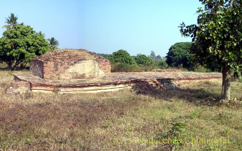 チェンマイ郊外ある都市の遺跡群、ウィアン・ターカーンのワットパーパオ