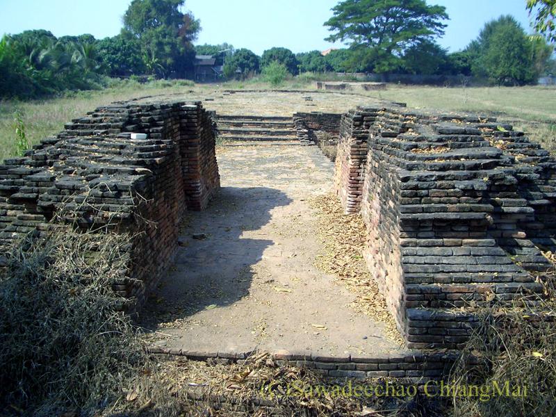 チェンマイ郊外ある都市の遺跡群、ウィアン・ターカーンの第3遺跡群