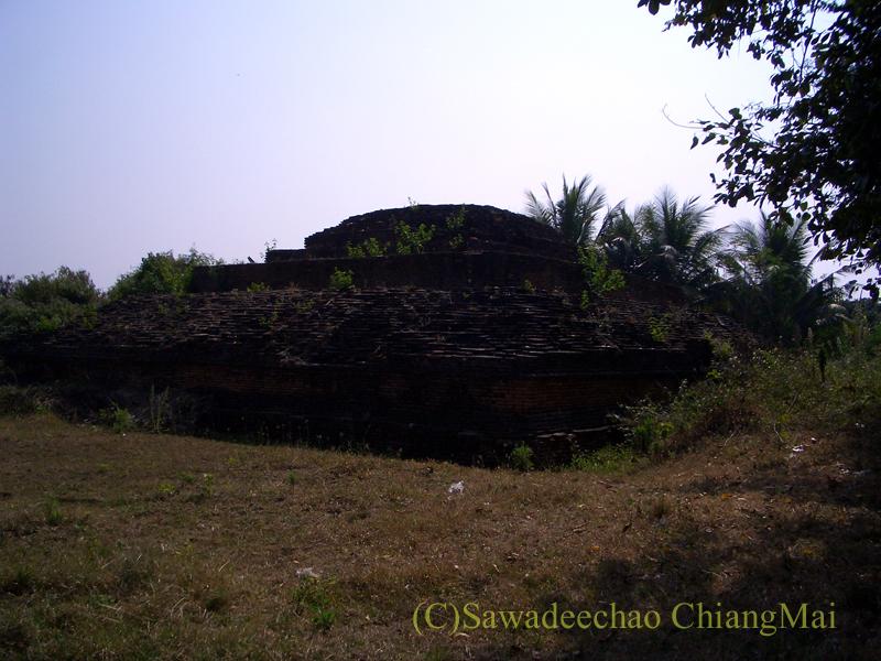 チェンマイ郊外ある都市の遺跡群、ウィアン・ターカーンのワットプラチャオカム