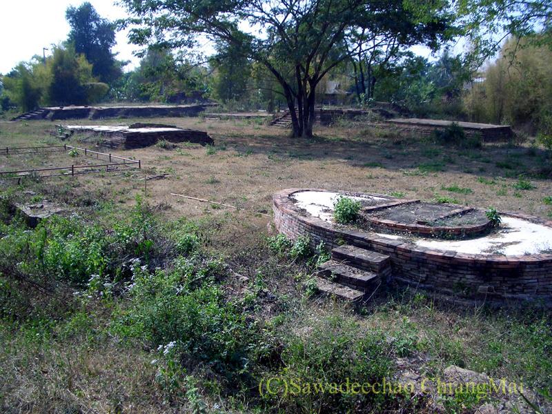 チェンマイ郊外ある都市の遺跡群、ウィアン・ターカーンのワットパーパイルアックの遺構