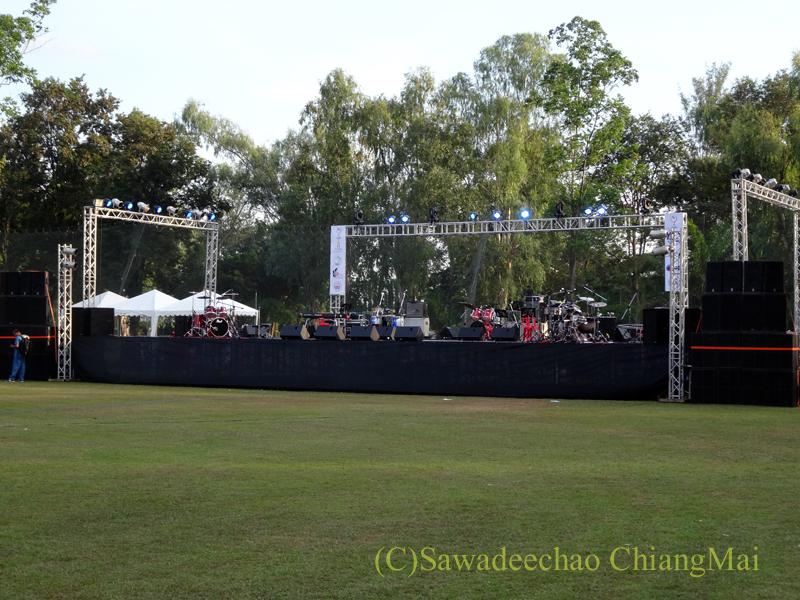 チェンマイにあるジムカーナゴルフクラブのステージ