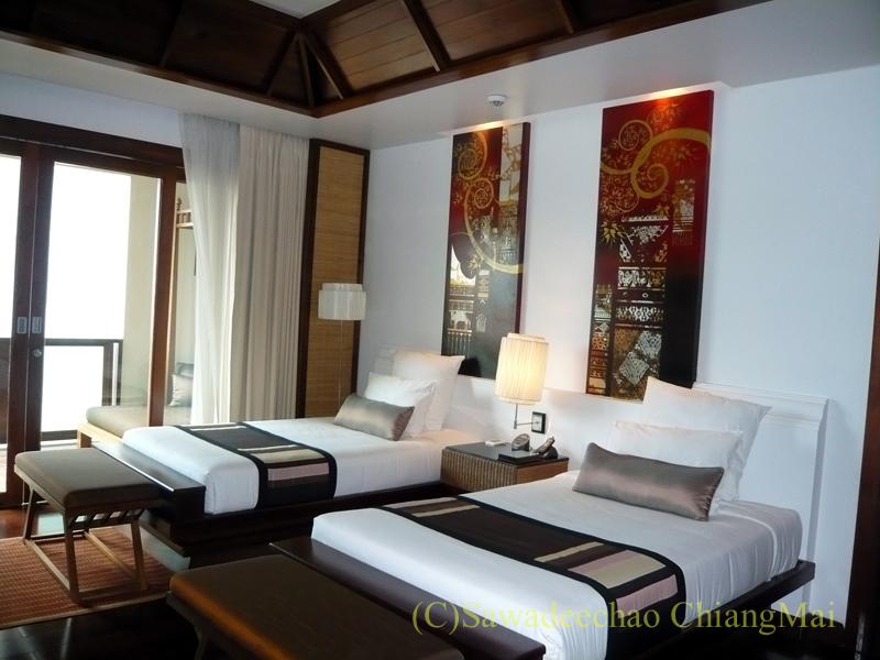 チェンマイのホテル、ラティラーンナーリバーサイドスパリゾートの客室概観