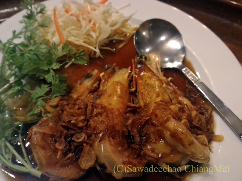 チェンマイの高級北タイ料理レストラン、ルアンカムインのクンマカーム