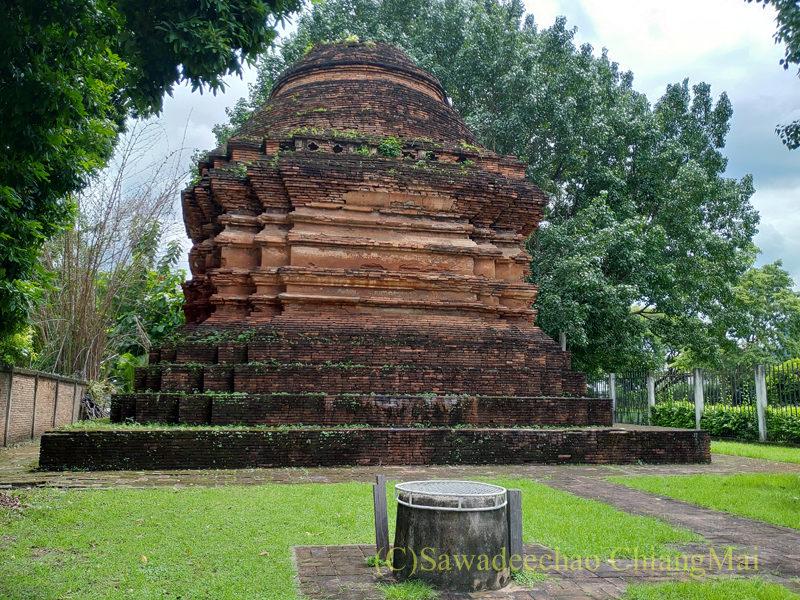 チェンマイの廃寺、ワットチェディデーン(ノーク)