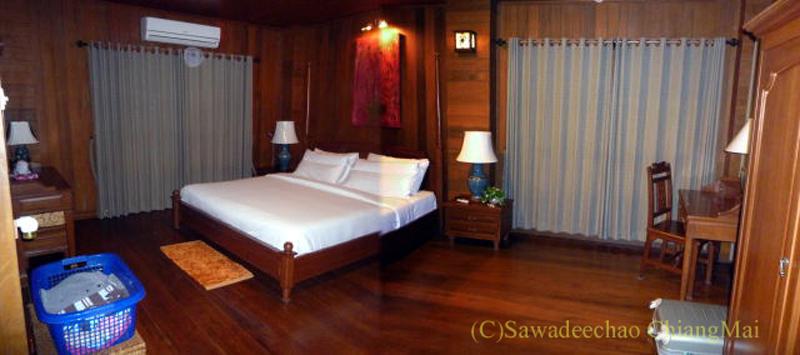 チェンマイの高級ホテル、ルアンカムインの客室概観
