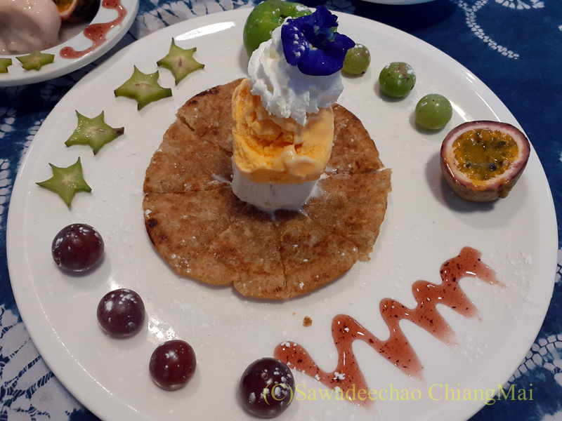チェンマイの創作タイ料理レストラン、ミーナーのロティ