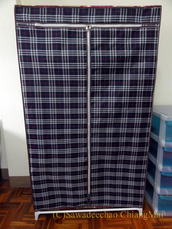 チェンマイの自宅で使っていた衣類収納ファンシーケース