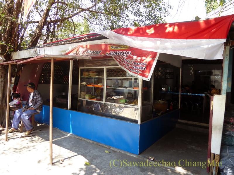 インドネシアのソロ(スラカルタ)にあるテンクレン食堂の外観