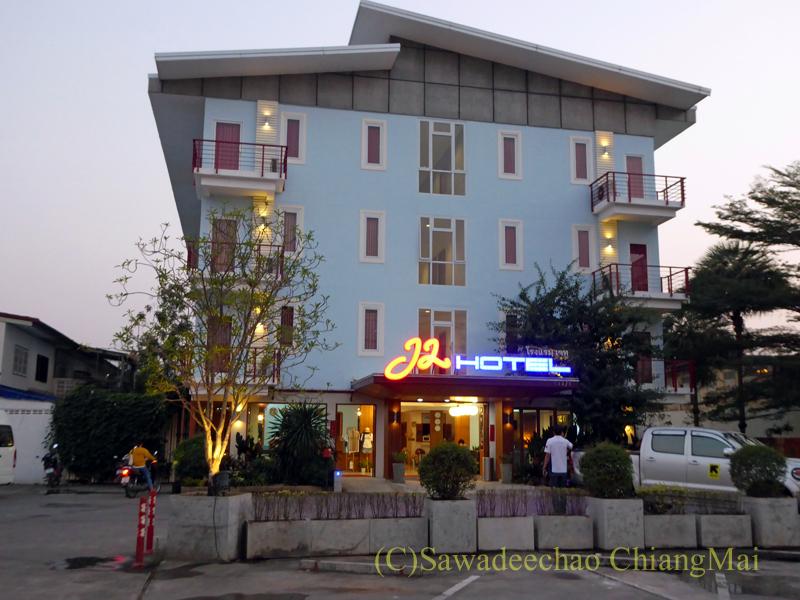 タイ・ミャンマー国境の街メーソートにあるJ2ホテル