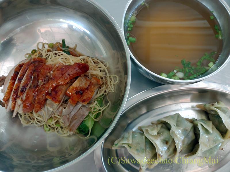チェンマイの香港麺食堂珍婆婆香港美食店