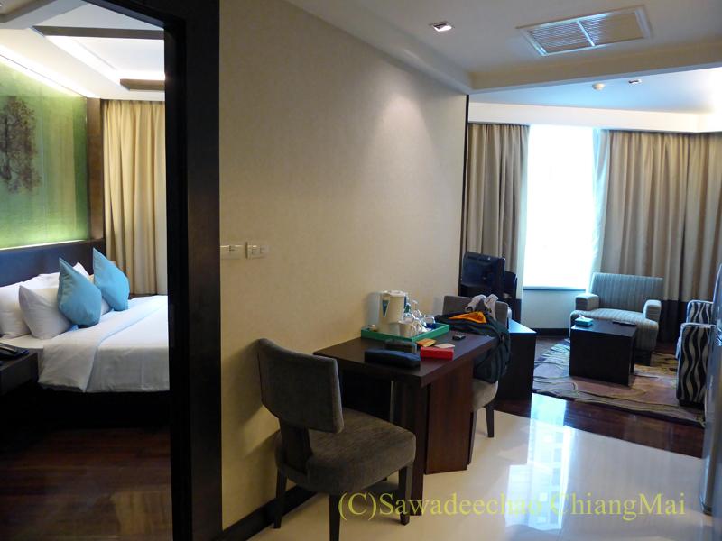 バンコクのジャスミンリゾートホテルのエグゼクティブルーム