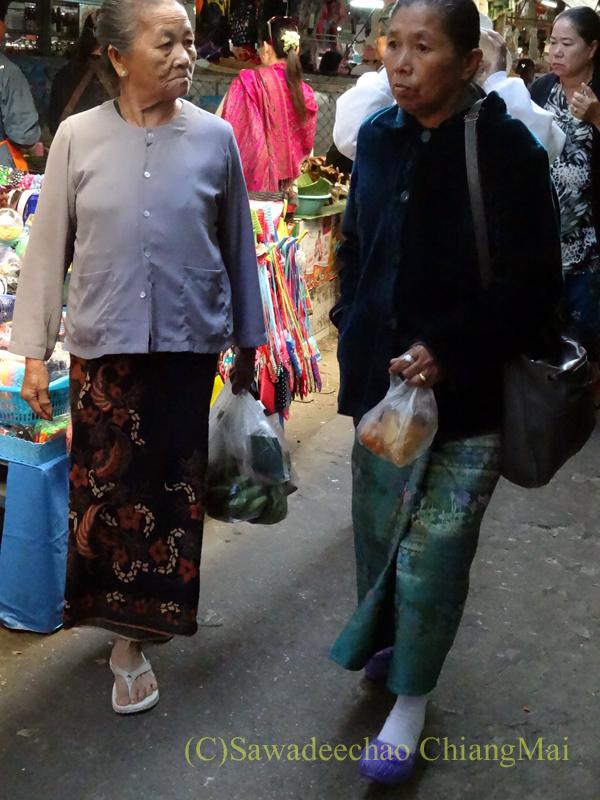 タイ最北部のミャンマー国境の街メーサーイのナーイブンユンのシャン族