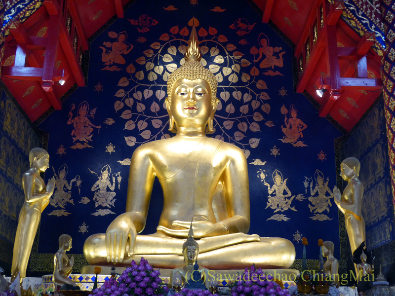 チェンマイで一番美しい仏像、プラチャオガオトゥー本体