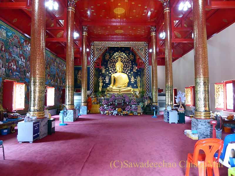 チェンマイで一番美しい仏像、プラチャオガオトゥー概観