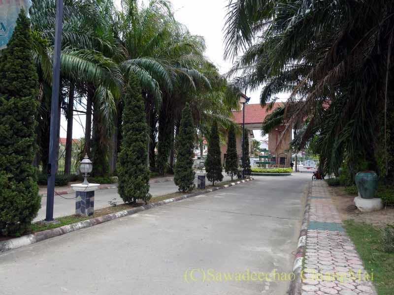 チェンマイ郊外にある高級分譲住宅街