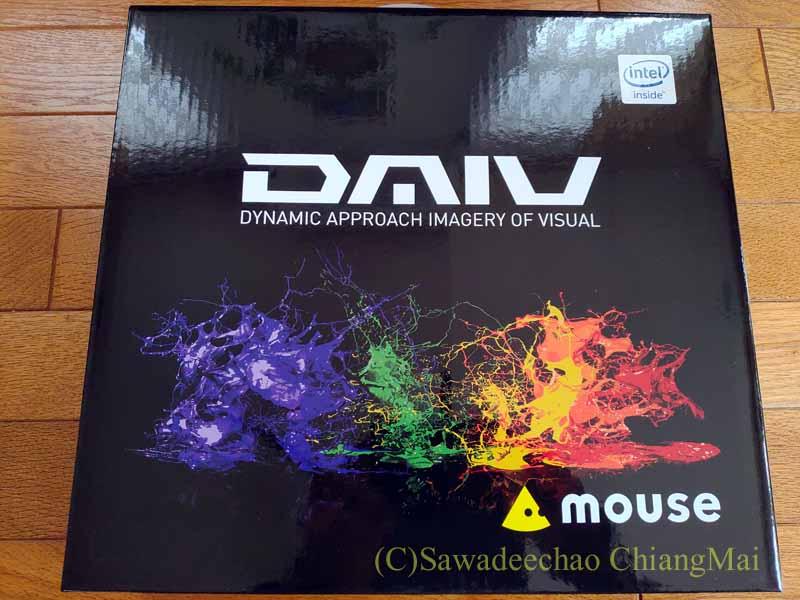 チェンマイ暮らしやアジアの旅用のマウスコンピューターDAIV4N