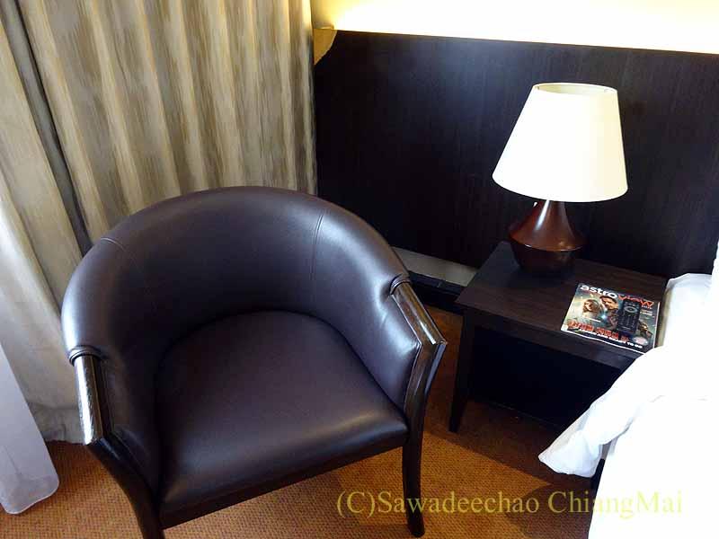 クアラルンプールにあるアンカサホテルの客室のチェア