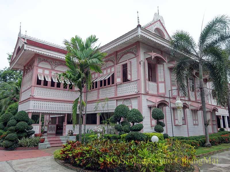タイのプレーの街最後の支配者の第一夫人の住居ウォンブリーハウス概観