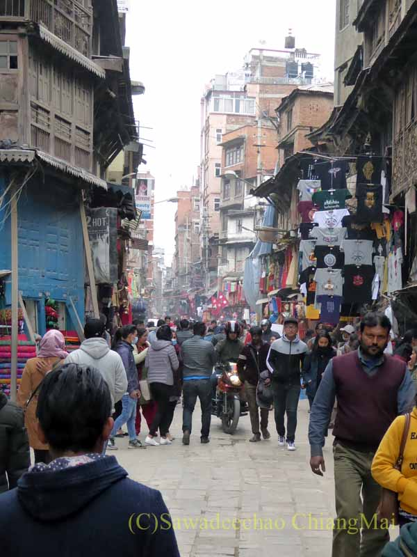 ネパールの首都カトマンズのシッダマーグ