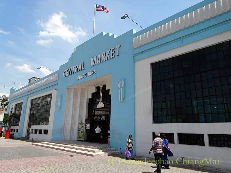 マレーシアのクアラルンプールにあるセントラルマーケット概観