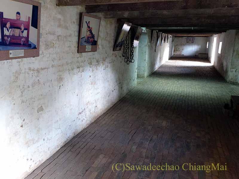 タイのプレーのクムチャオルワンムアンプレーの牢屋